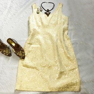 Joseph Ribkoff sleeveless shift dress